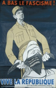 Affiche du P.C.F. réalisée par André Fougeron pour les élections législatives du 17 juin 1951
