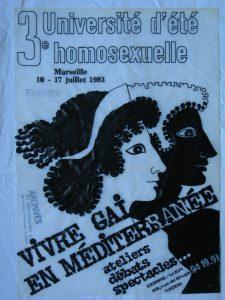 3ème Université d'été homosexuelle Archives privées de Christian Deleusse