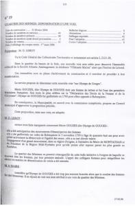 Délibération de la mairie de La Rochelle. Tout droit réservé Eva COT
