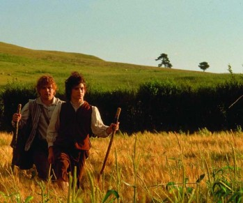La route est longue / The Lord of the Rings, Peter Jackson, New Line tous droits réservés